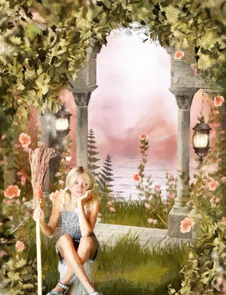Аня Лекс в замке Хилкровс