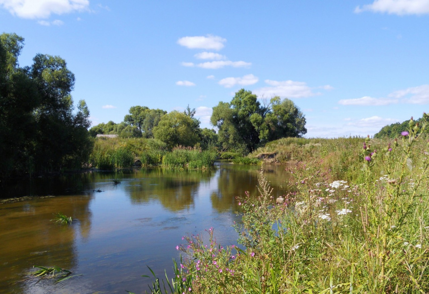Река Листвянка