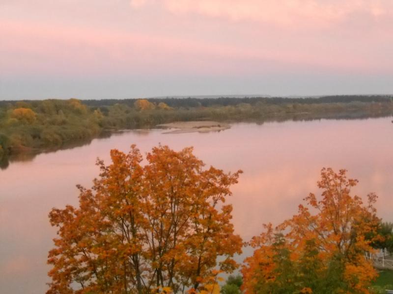 Осень над Вяткой-рекой