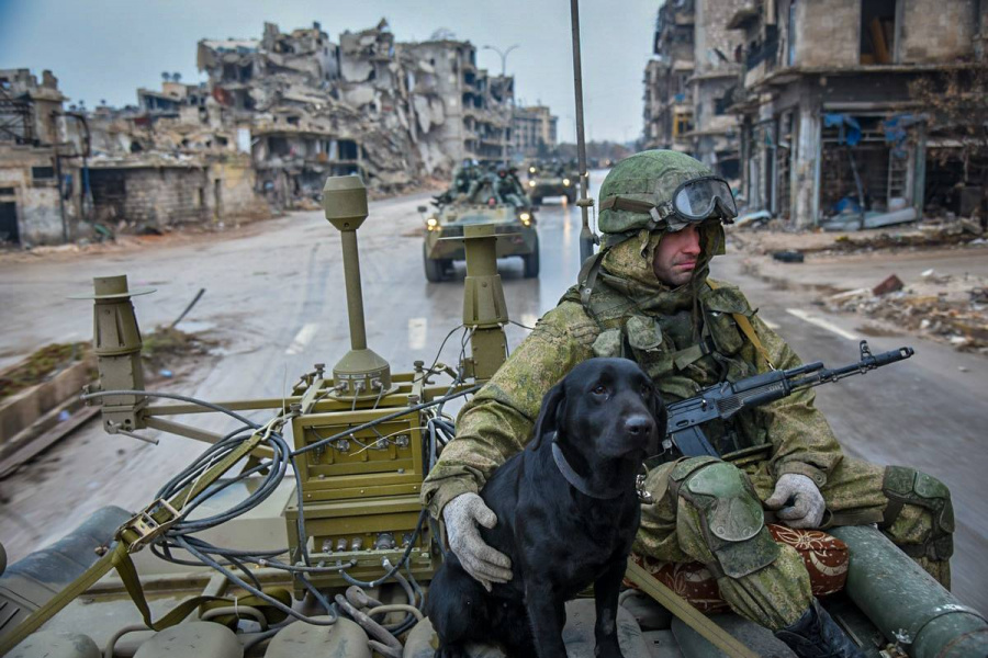 российские войска в сирии
