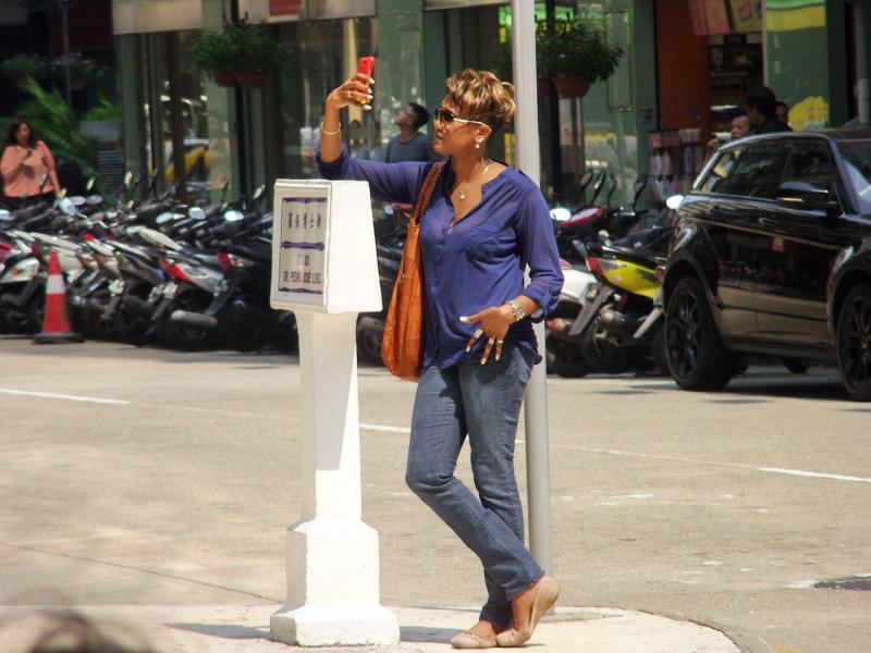 Дама из Макао :)