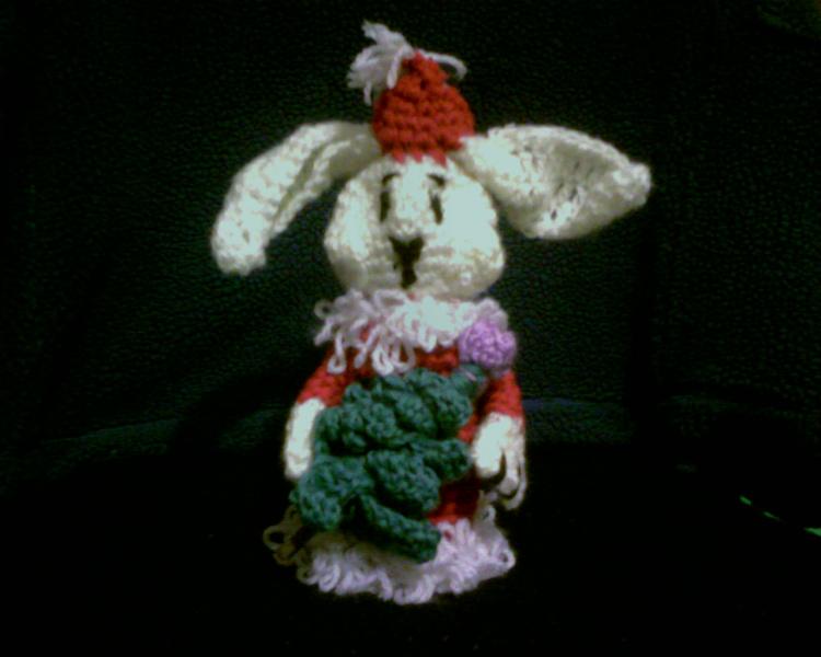 заяц с елкой