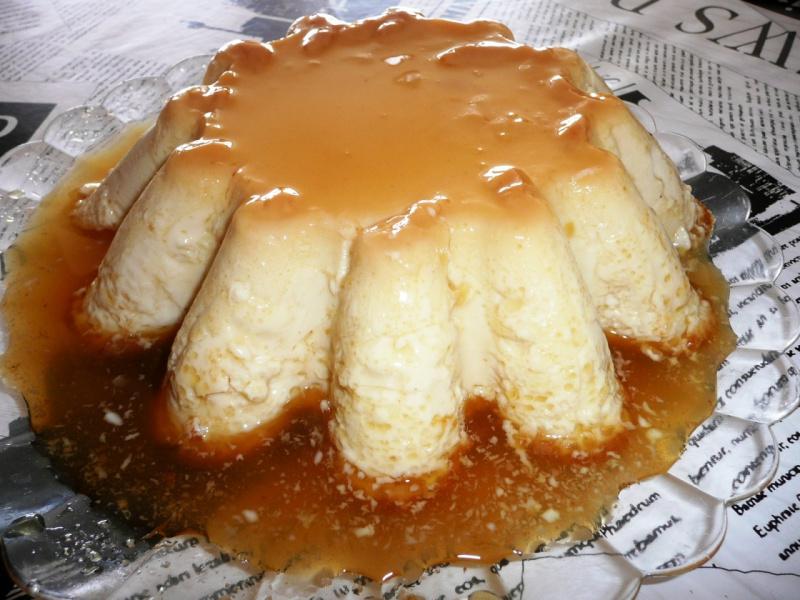 ванильный крем-карамель