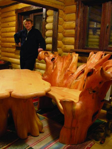 эксклюзивная деревянная мебель