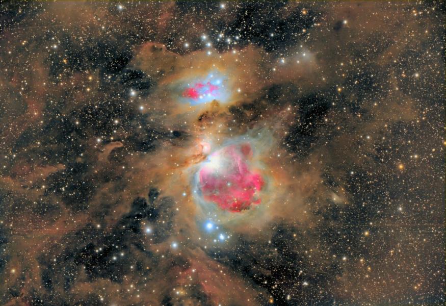 Туманность Ориона.