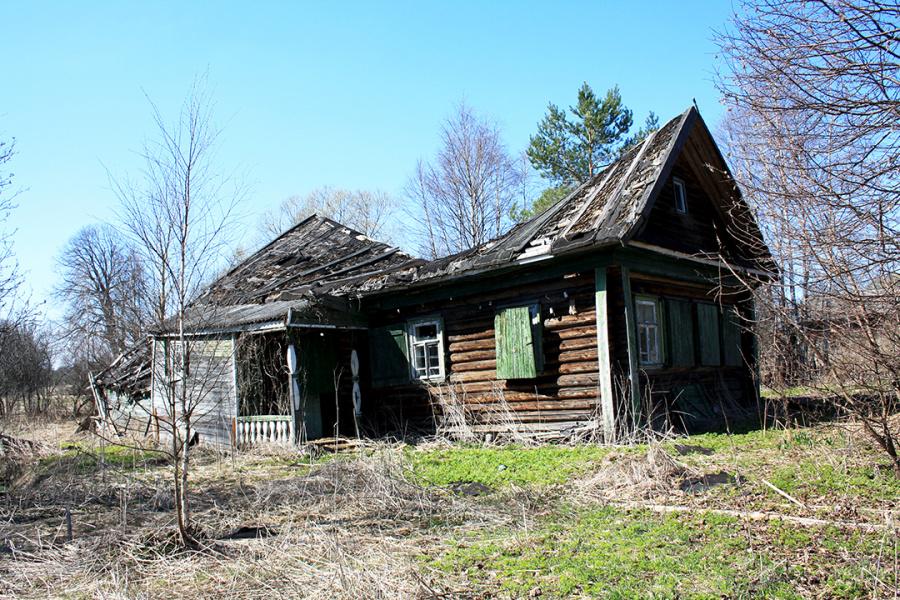 Заброшенный дом.