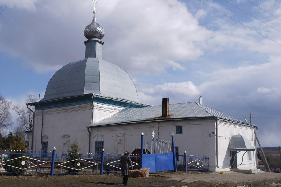 Храм в с.Илья-Высоково.