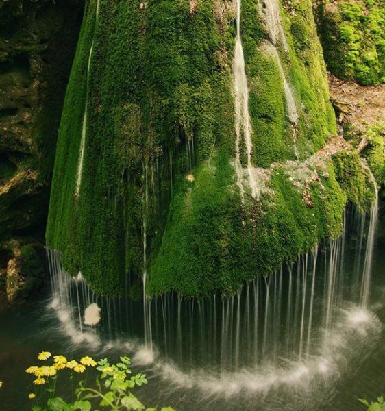 Водопад в румынской Трансильвании