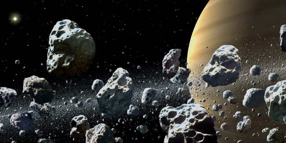 В Кольце Сатурна