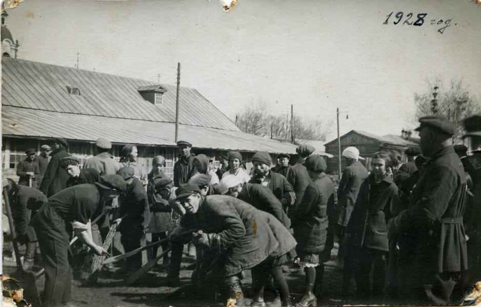 Комсомольский субботник